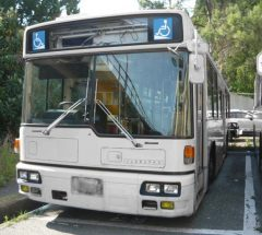 [大型バス]H12年・三菱ふそうエアロスター・KC-MP747M