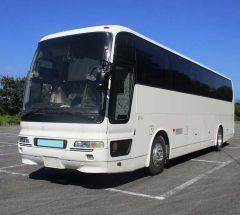 [大型バス]H8年・三菱ふそうエアロエース・KC-MS822P